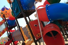 i giochi per i più piccoli, sulla spiaggia